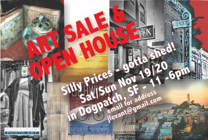OPEN HOUSE & ART SALE