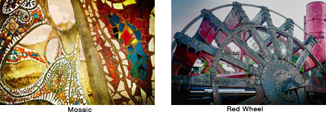Mosaic-red Wheel