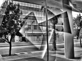 Refletion on Third Street
